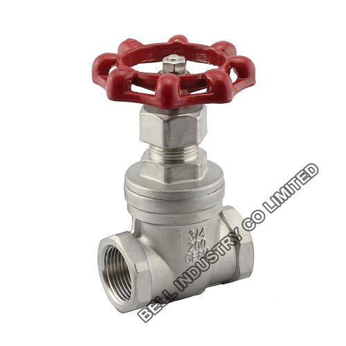 BSP Screwed Stainless steel gate valve