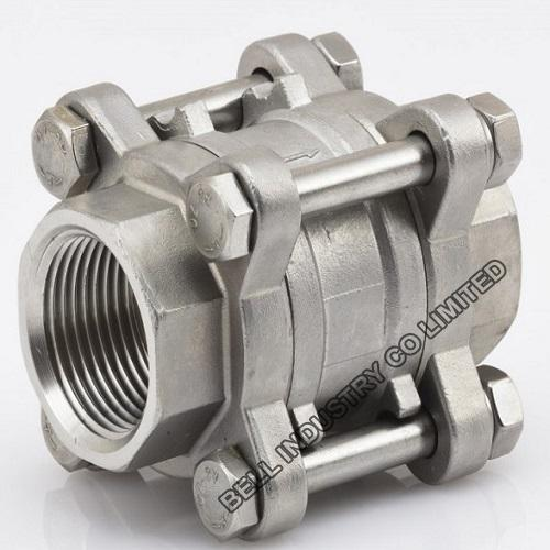 stainless steel Spring loaded check valve