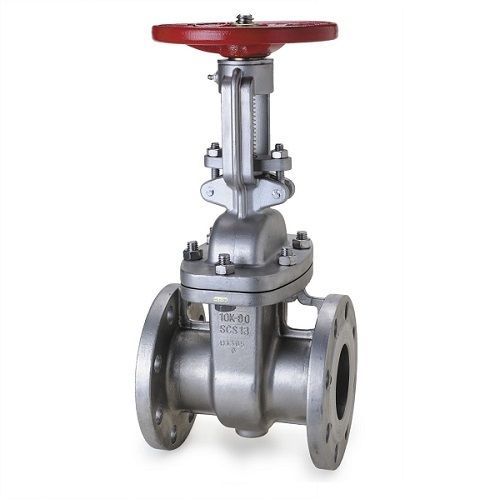 JIS 10K Stainless steel gate valve