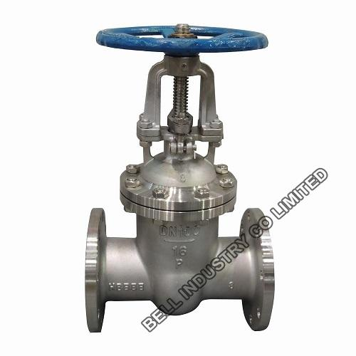 DIN F4/F5/F7 Stainless steel flanged gate valve