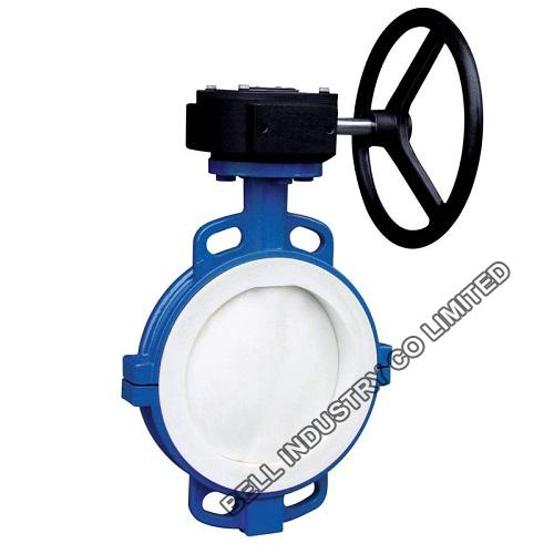 PTFE LINED Wafer Butterfly Valve-PN10-PN16-GGG40