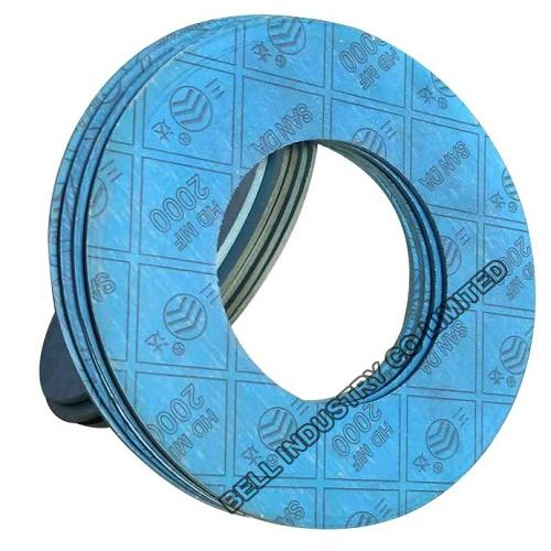 Asbestos Free Flat Compressed Rubber Gasket