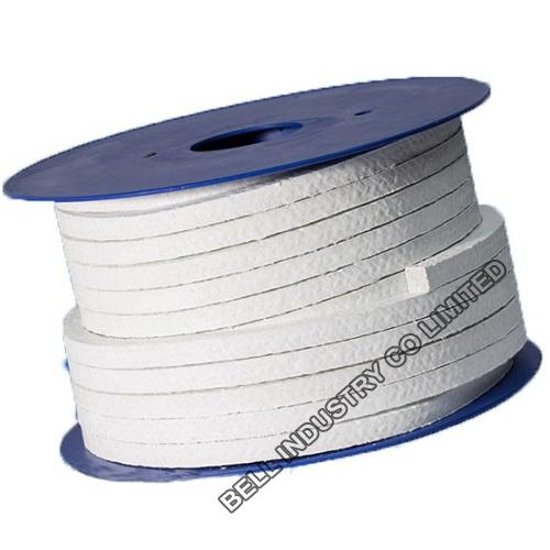 Asbestos braided Packing with PTFE